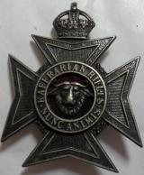 Kaffrarian Rifles Officer's Cast White Metal Cap Badge KC
