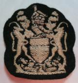 Rhodesian Army RSM Embroidered Arm Badge