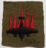 WW2 5th Anti-Aircraft (5AA) Division Embroidered Formation Sign 1938-1942