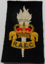 Royal Army Education Corps Embroidered Blazer Badge QC