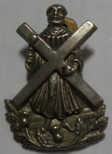 Black Watch White Metal Sporran Badge 3