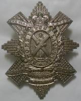 The Black Watch (Royal Highland Regiment) of Canada White Metal Glengarry Badge QC