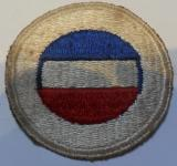 WWII US Army Service Battalion Embroidered Formation Patch