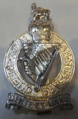 Queens Royal Irish Hussars (QRIH) Staybrite Cap Badge 1958-1993