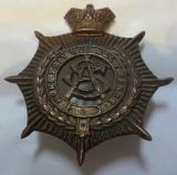 Victorian Army Service Corps (ASC) Bronzed Brass Cap Badge